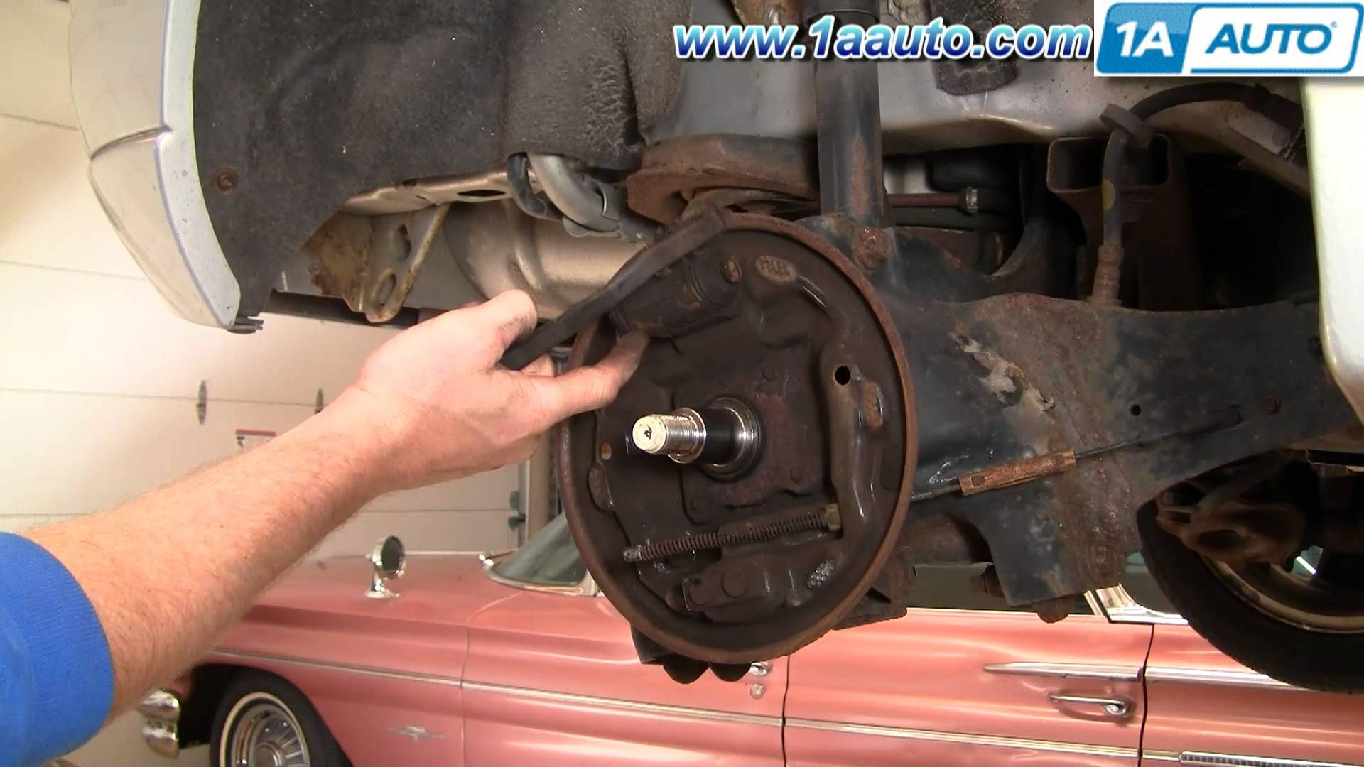 Replace Rear Drum Breaks On 2000 2011 Ford Focus 1a Auto Parts