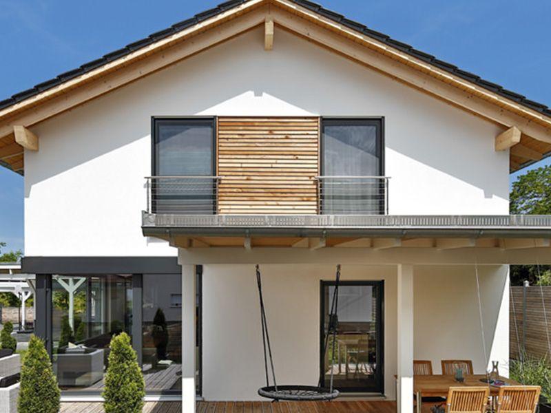 Fertighaus Hersteller Regnauer Hausbau | Bautipps.de #terassenüberdachung