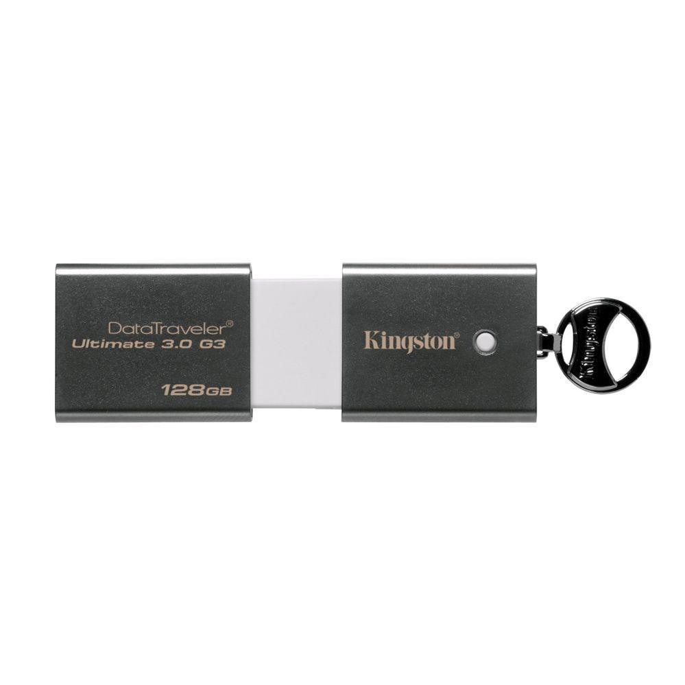 Kingston Data Traveler Ultimate G3 128GB USB 3.0 Grey DTU30G3   Μόνο 103,64€ !!  #eldargr #flashDrives #flashSticks #USBdrives #Kingston #DataTraveler