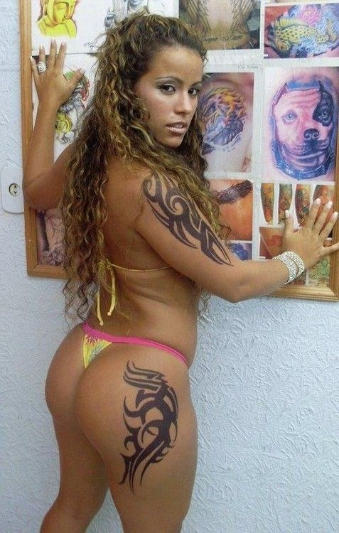 Sexy Colombian Tattooed Slut With Amazing Naughty Ass And Big Booty