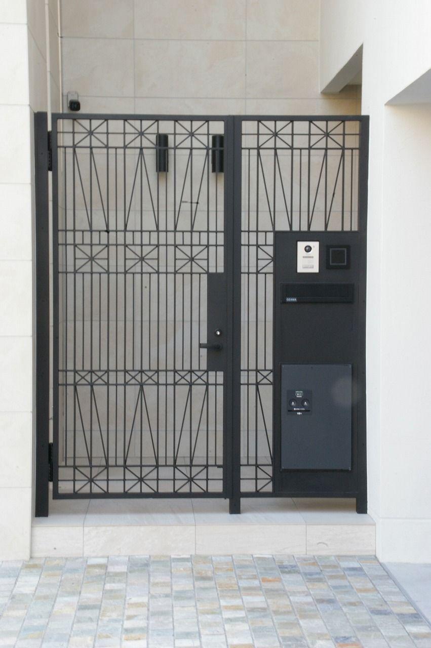 建築デザイン Toya アルミ門扉 建築デザイン 玄関 デザイン