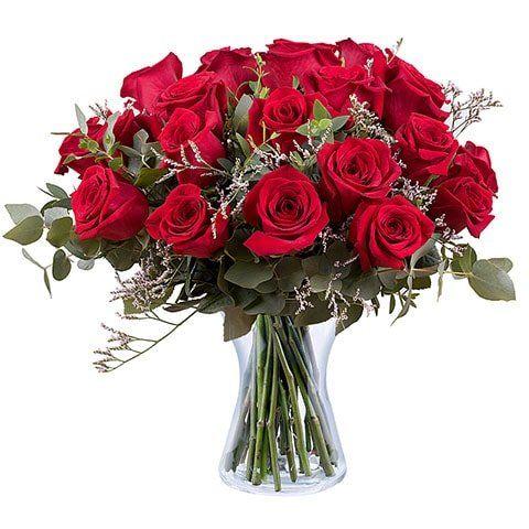 24 Rosas Rojas A Domicilio Comprar Rosas Online Floraqueen Floraqueen En 2020 Rosas Rojas Rosa Roja Rosas Blancas