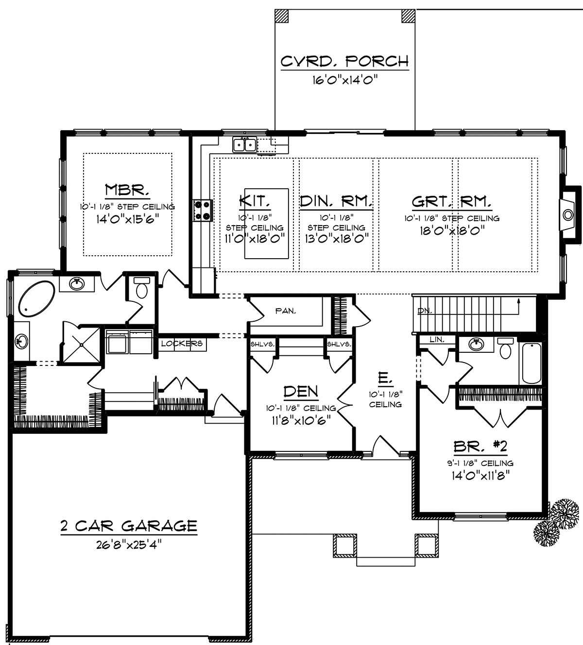 House Plan 1020 00013 Craftsman Plan 2 224 Square Feet 2 Bedrooms 2 Bathrooms In 2020 Ranch Style House Plans Best House Plans Floor Plan Design