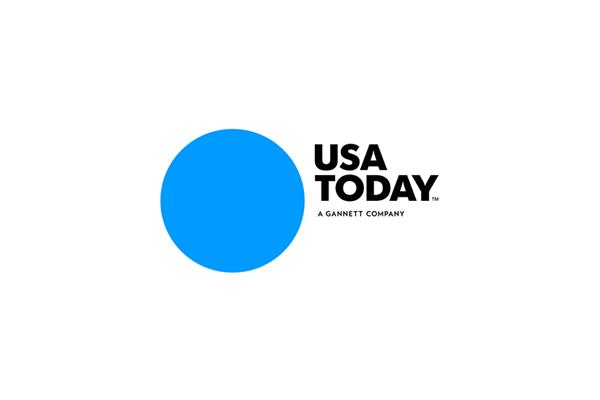 Usa Today Logo Circle Logos Logos Famous Logos