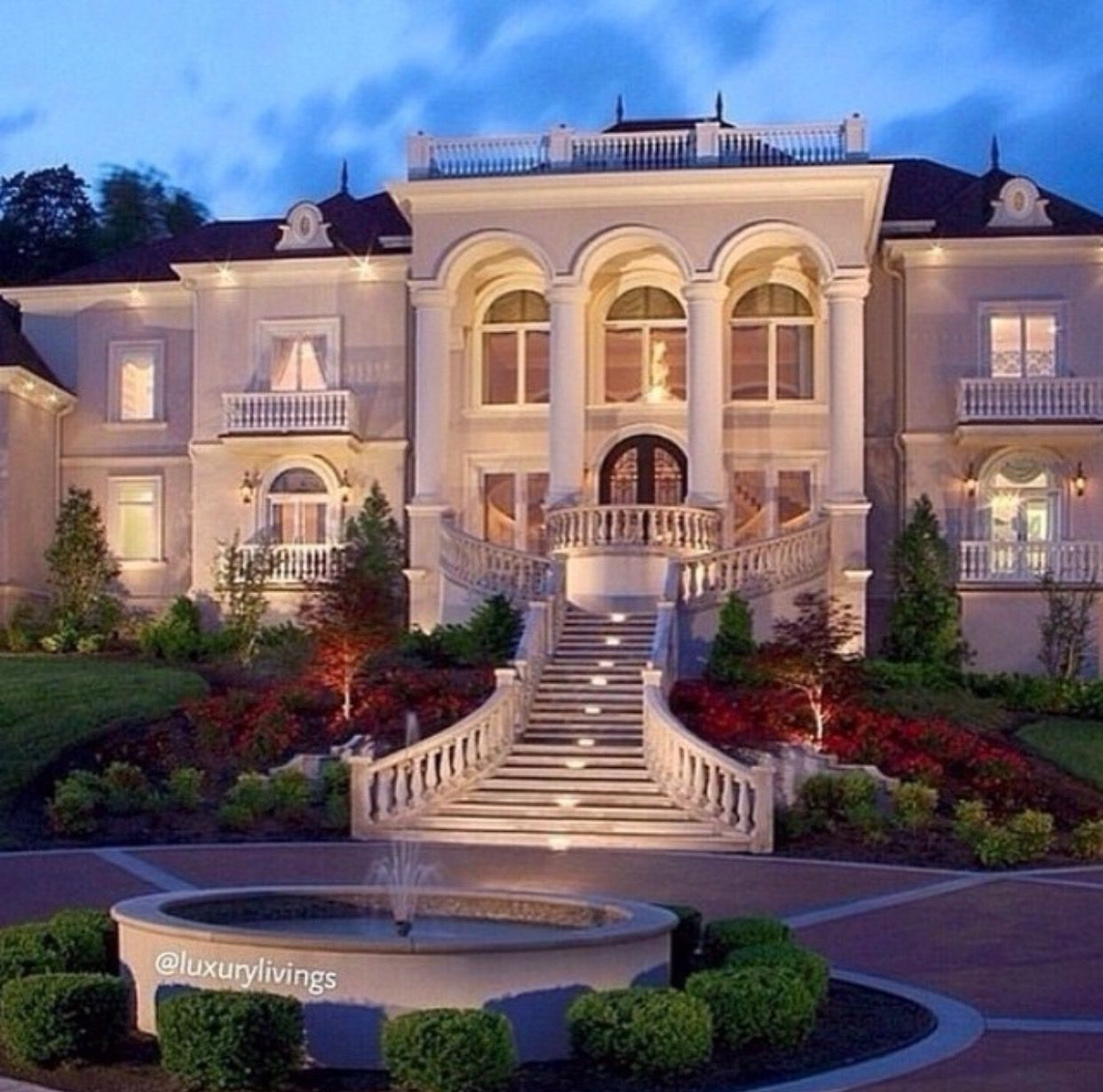 Pin by doris diaz on my dream home house mansions modern mansion