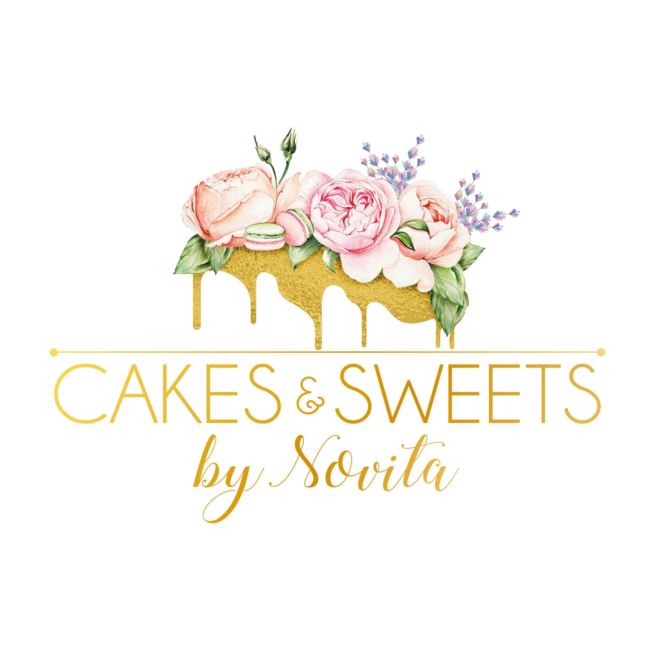 logo design for cakes and sweets by novita from us