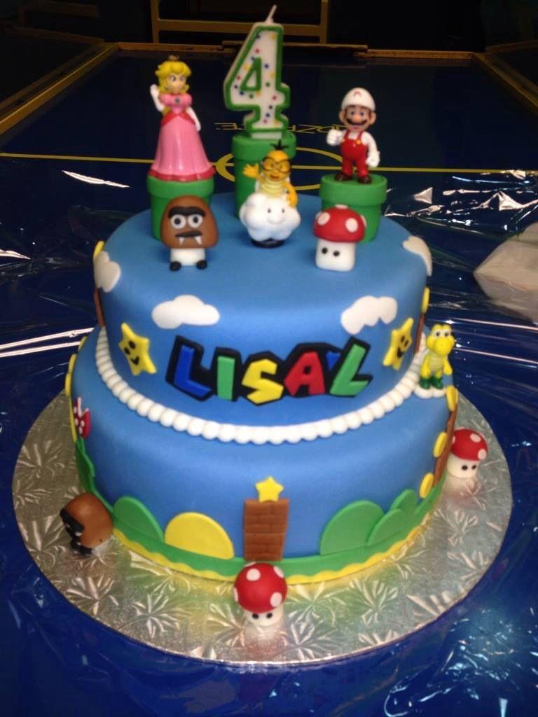 Mario bros cake pic 1 of 2