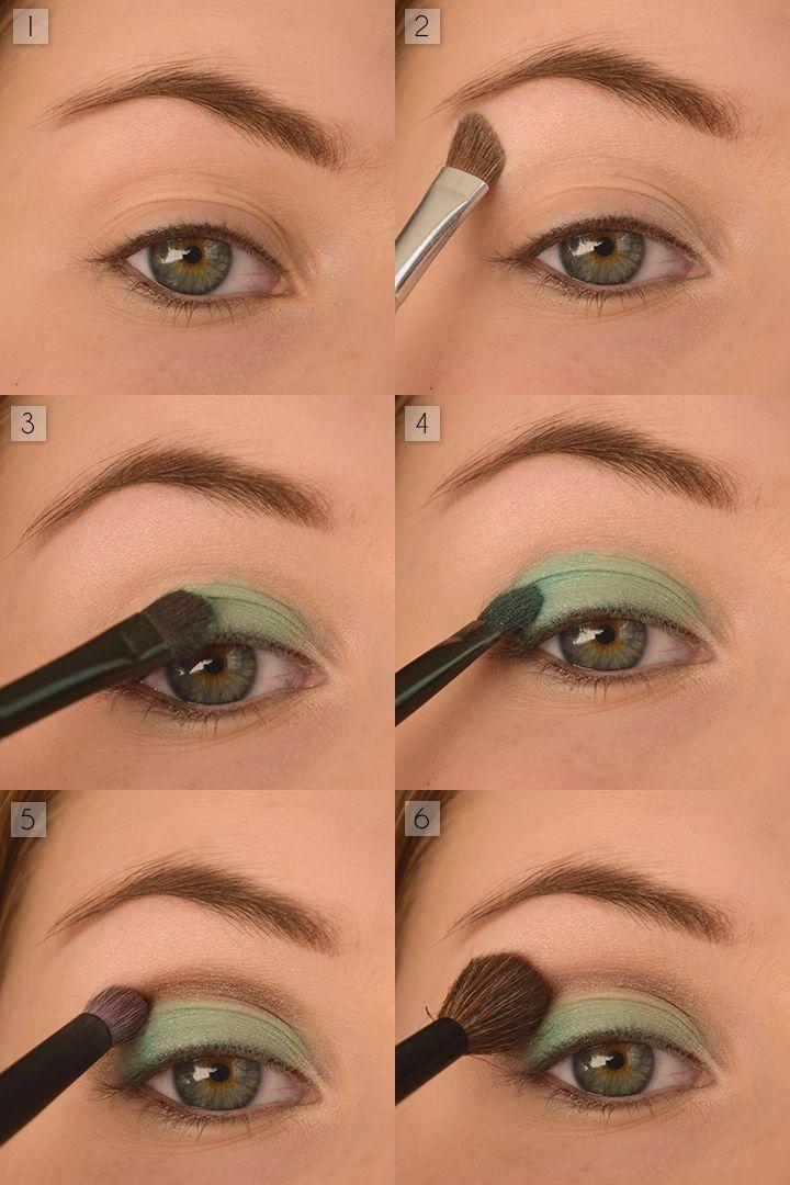 in 6 stappen mooie oogschaduw aanbrengen | make-up in 2019 - eye