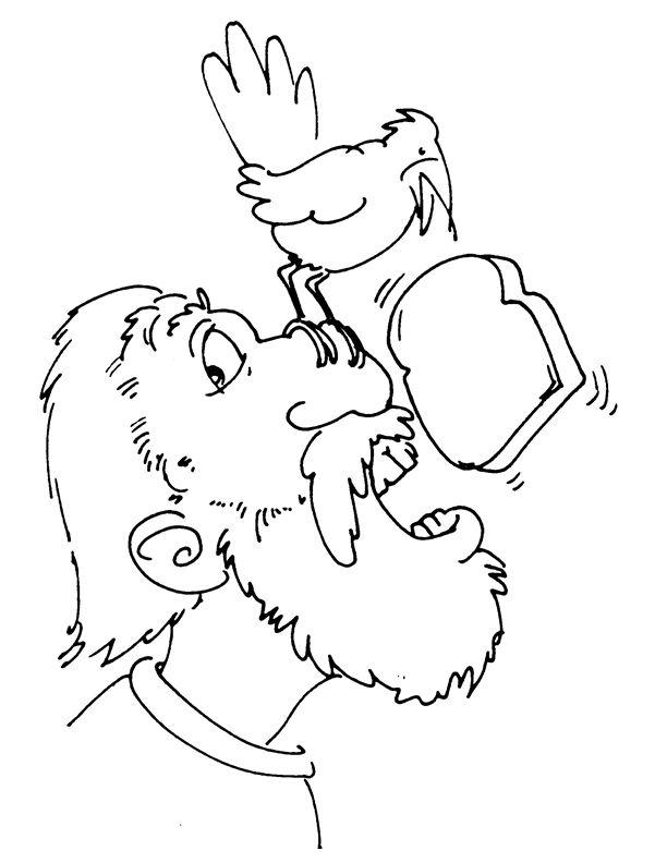 ELÍAS 1. Elías es alimentado por los cuervos 1 Reyes 17,18