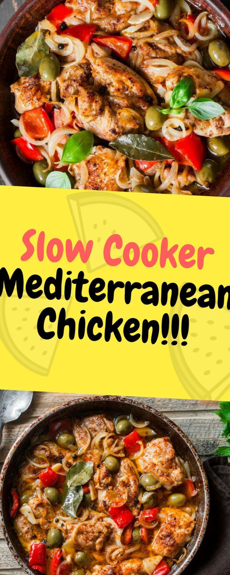 Langsamkocher-Mittelmeerhuhn - eins des Lebensmittels,  Langsamkocher-Mittelmeerhuhn - eins des Lebensmittels,