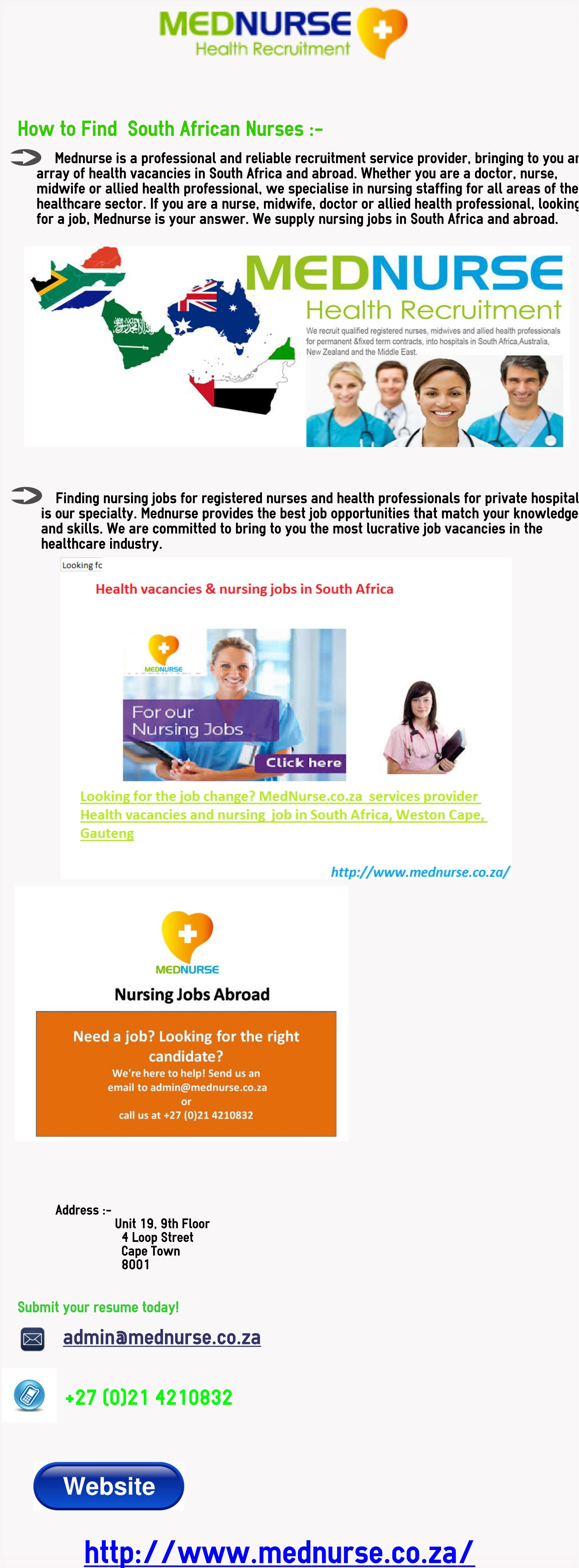 Find South African Nurses Midwife Jobs Nursing Jobs Find A Job