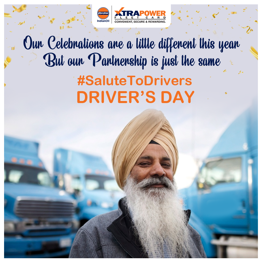 Xtrapower Honours The Drivers Recognizes Their Hard Work Our Relationship With Our Drivers Is Stronger Than Ever Salutetod In 2020 Fleet Relationship Work Hard