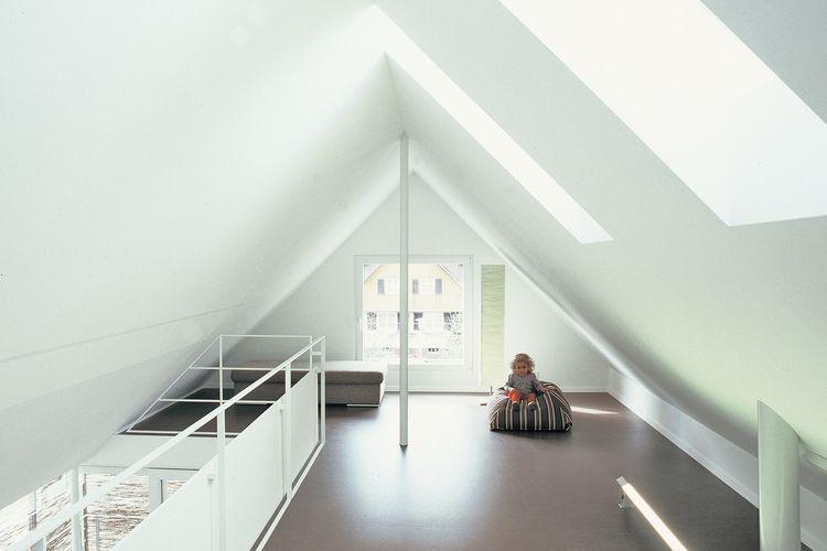 Fantastisch Dachgeschoss Mit Offener Galerie Loft Stairs, White Interiors, Extensions,  Attic, Ceiling,
