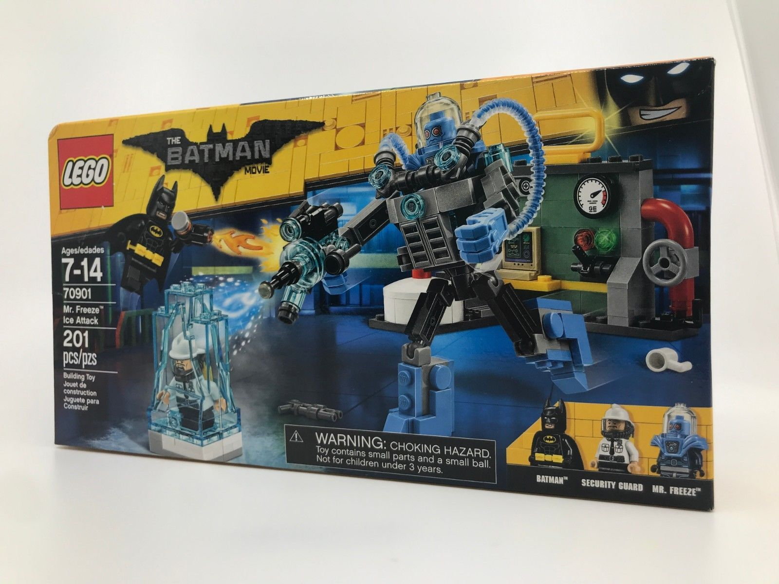 Lego The Batman Movie Mr Freeze Ice