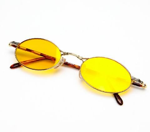 809fc372db8 Paolo Gucci 7424R H1N1 21K Gold Plated - Vintage Frames Company