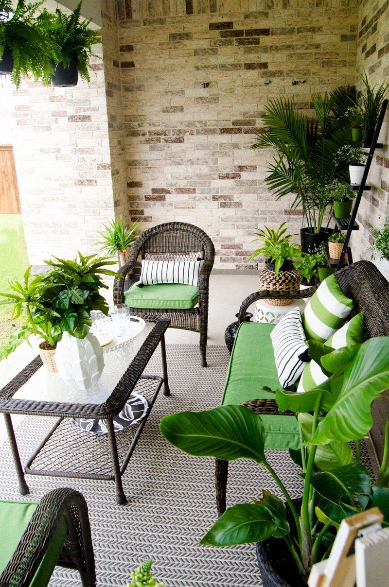 Patio Inspiration with Lowes