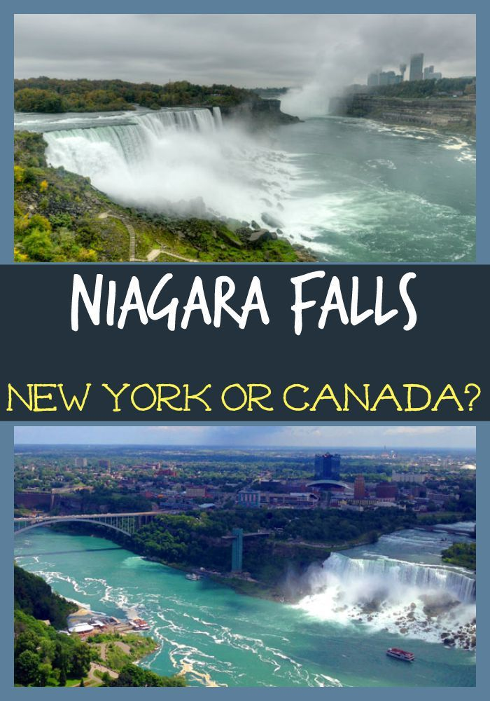 Niagara Falls New York Or Canada Cute Town To Check Out With