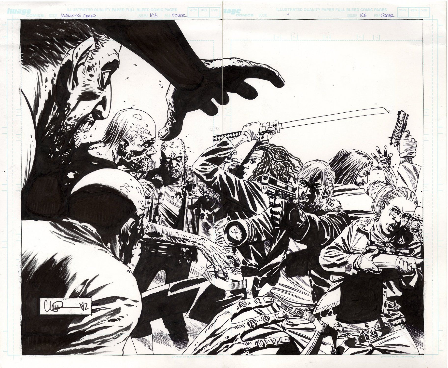 Charlie Adlard - Walking Dead | COMICS | Pinterest ...