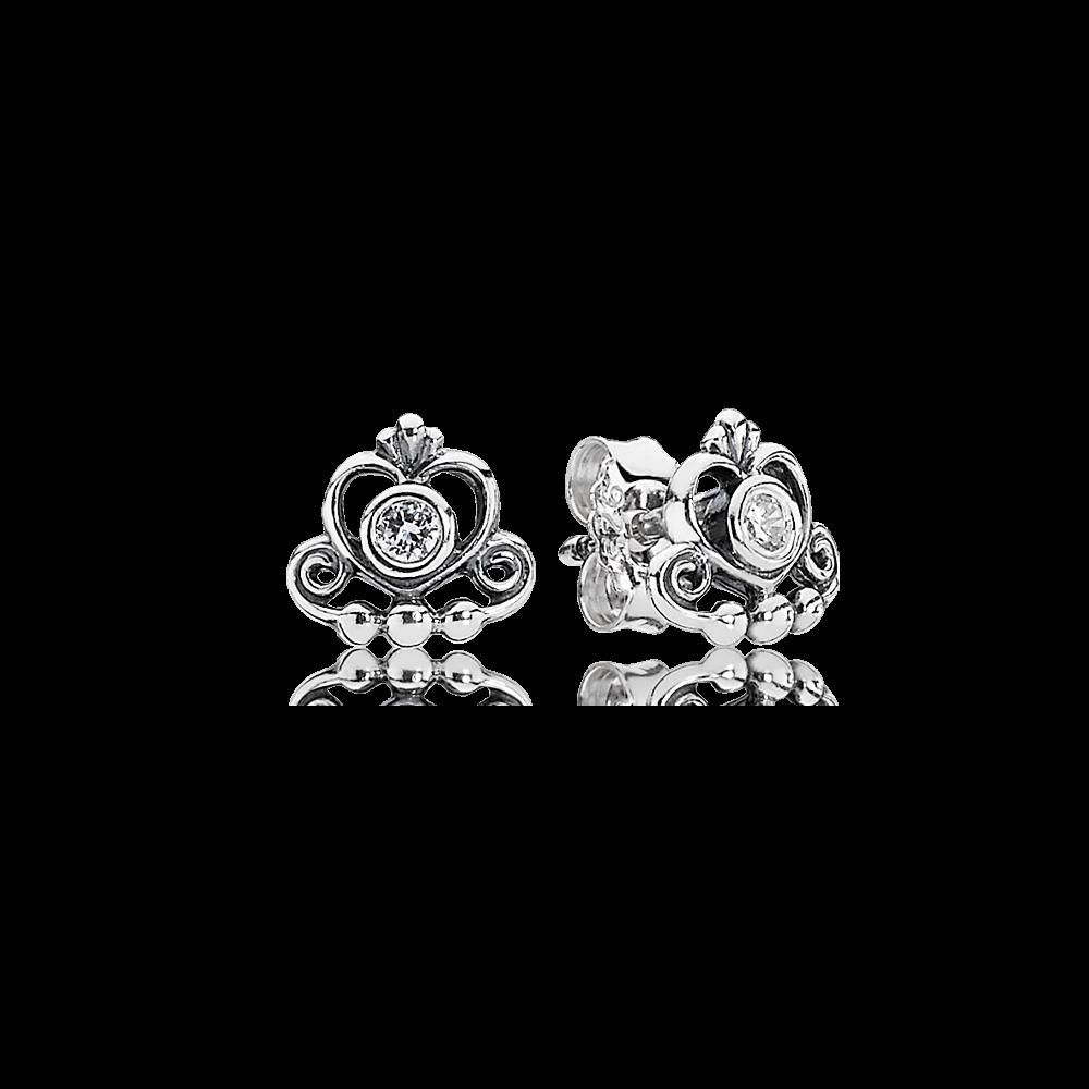28b78443e PANDORA | My Princess, Clear CZ | Jewelry | pendientes de Pandora ...
