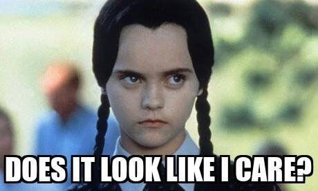 Wednesday Addams Meme Funny : Wednesday addams memes buscar con google funny pinterest