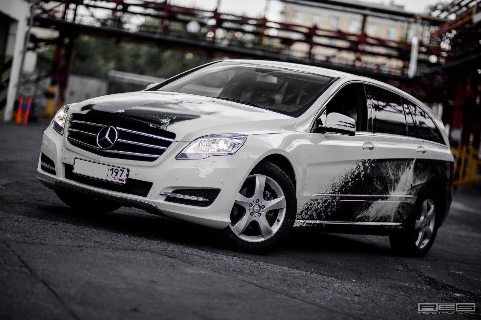 Batman Mercedes RClass Mercedes r class, Mercedes benz