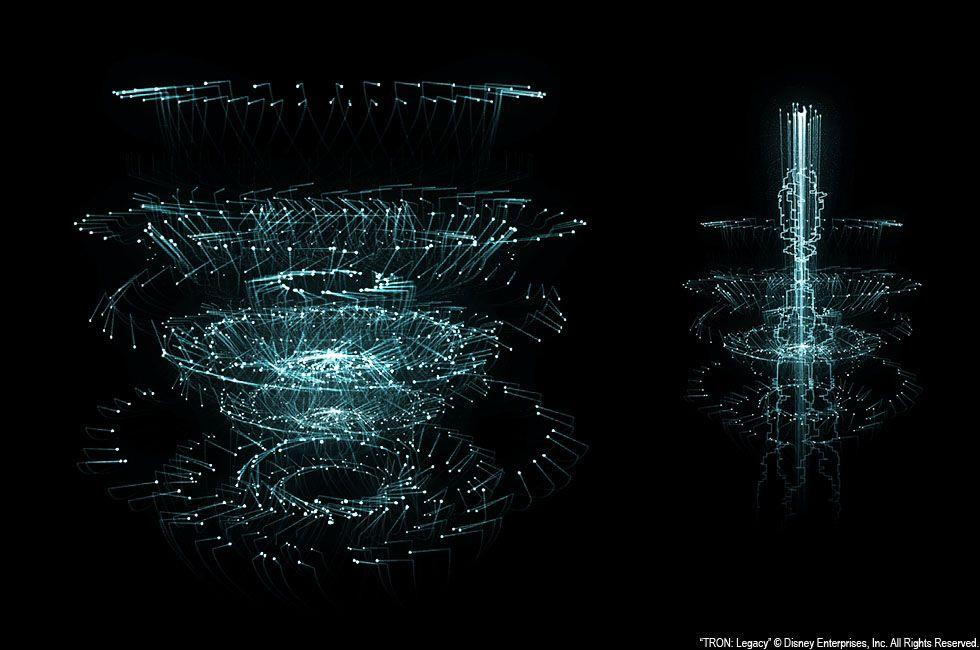 Tron Legacy Graphics _ By Josh Nimoy _