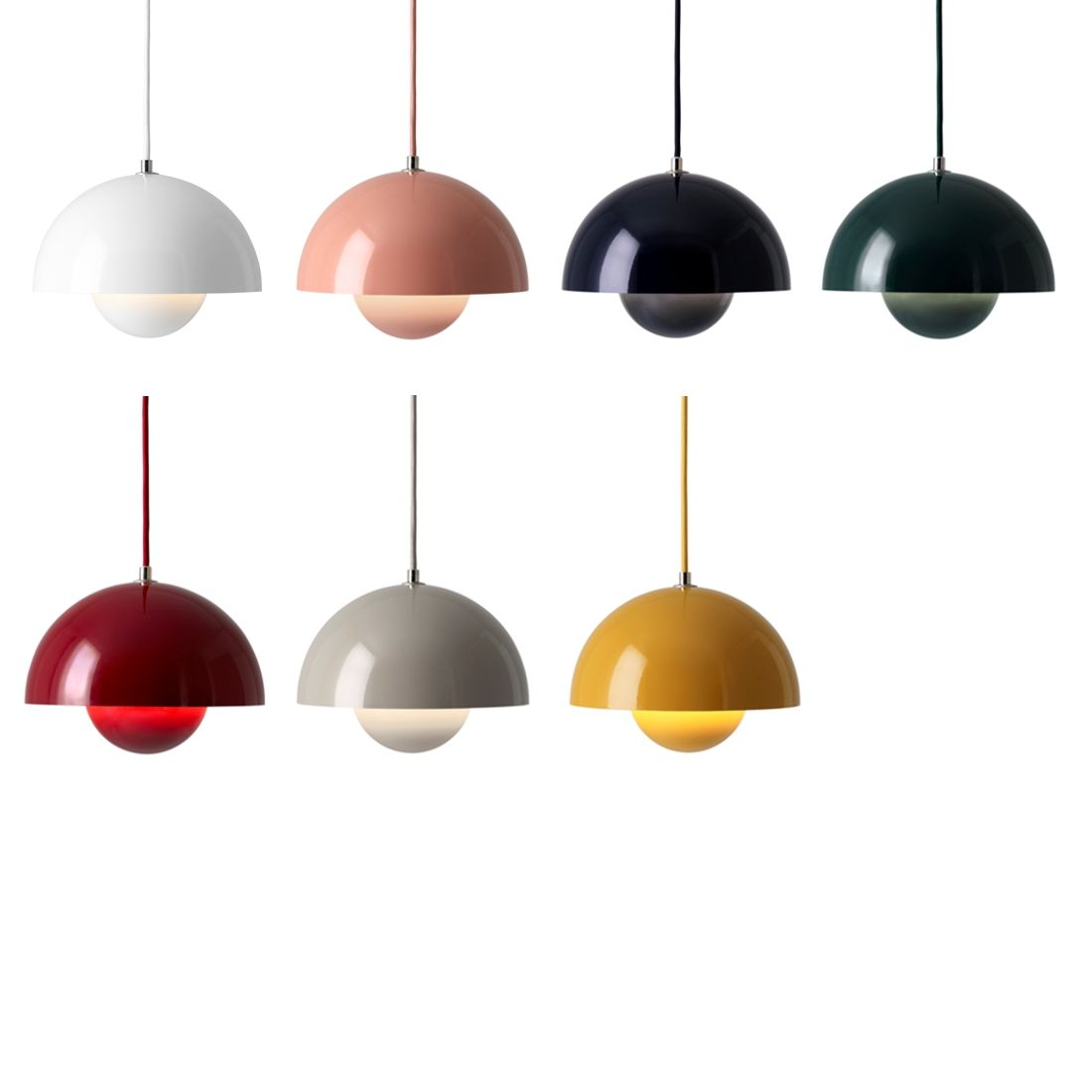 Biography Of Verner Panton By Bianca Killmann For Tagwerc Colorful Pendant Lamp Flowerpot Vp1 Pendant Andtradition Light