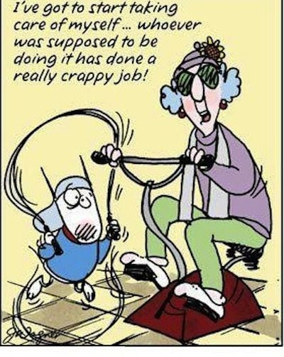Exercise Jokes For The Funniest Pictures And Quotes Visit Www Bestfunnyjokes4u Com Lol Best Funny Cartoon Joke 2 Funny Cartoons Jokes Maxine Funny