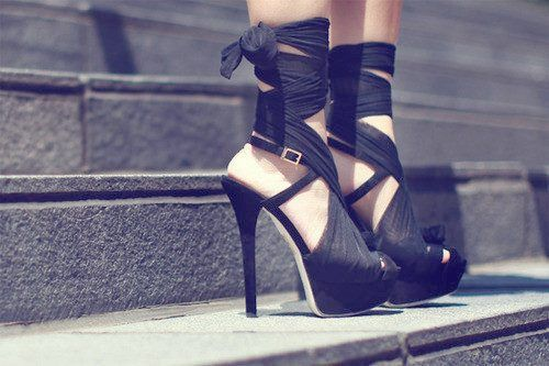 One can never have too many black heels!