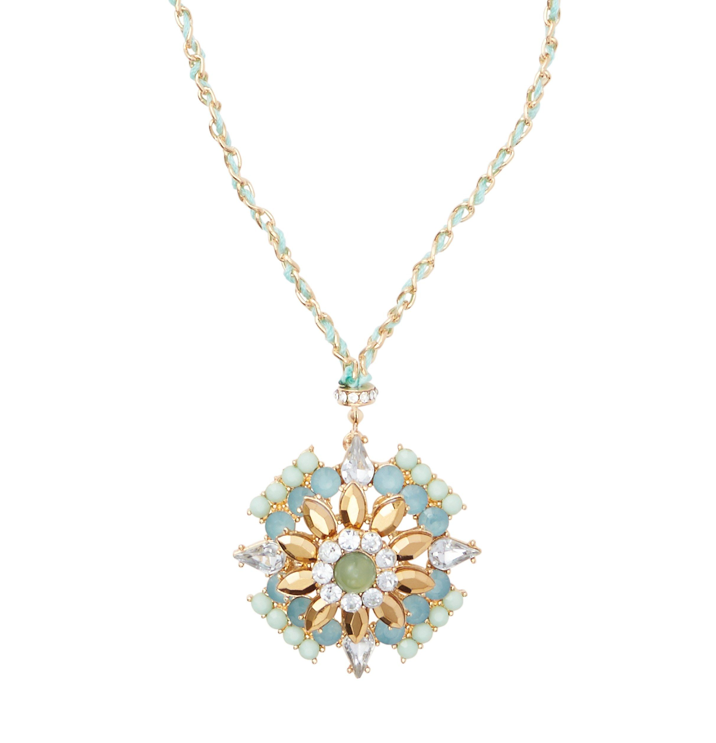 product best chandelier aqua tone everything of fashion gold aq jewelry necklace online jewellery necklaces home
