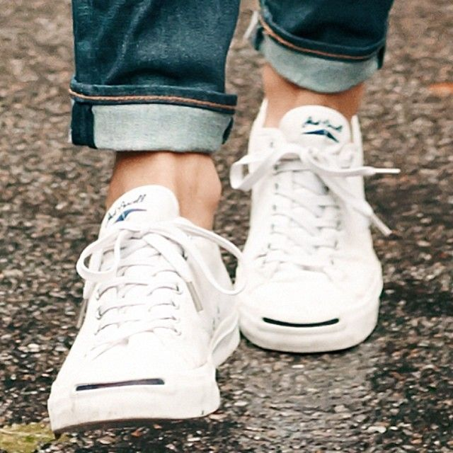 Sneakers fashion, Jack purcell outfit