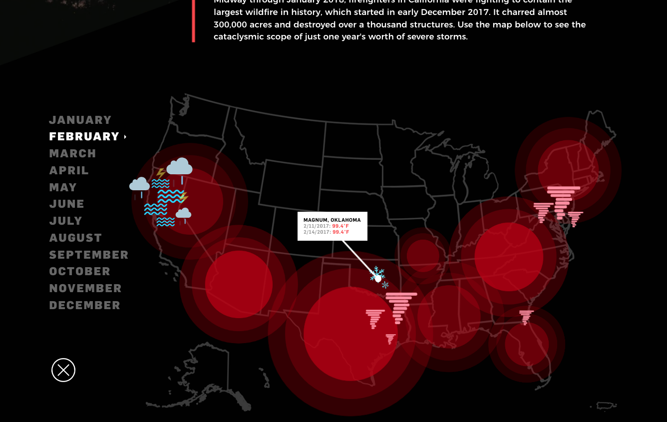Mapping the Cost of Severe Weather in the United States