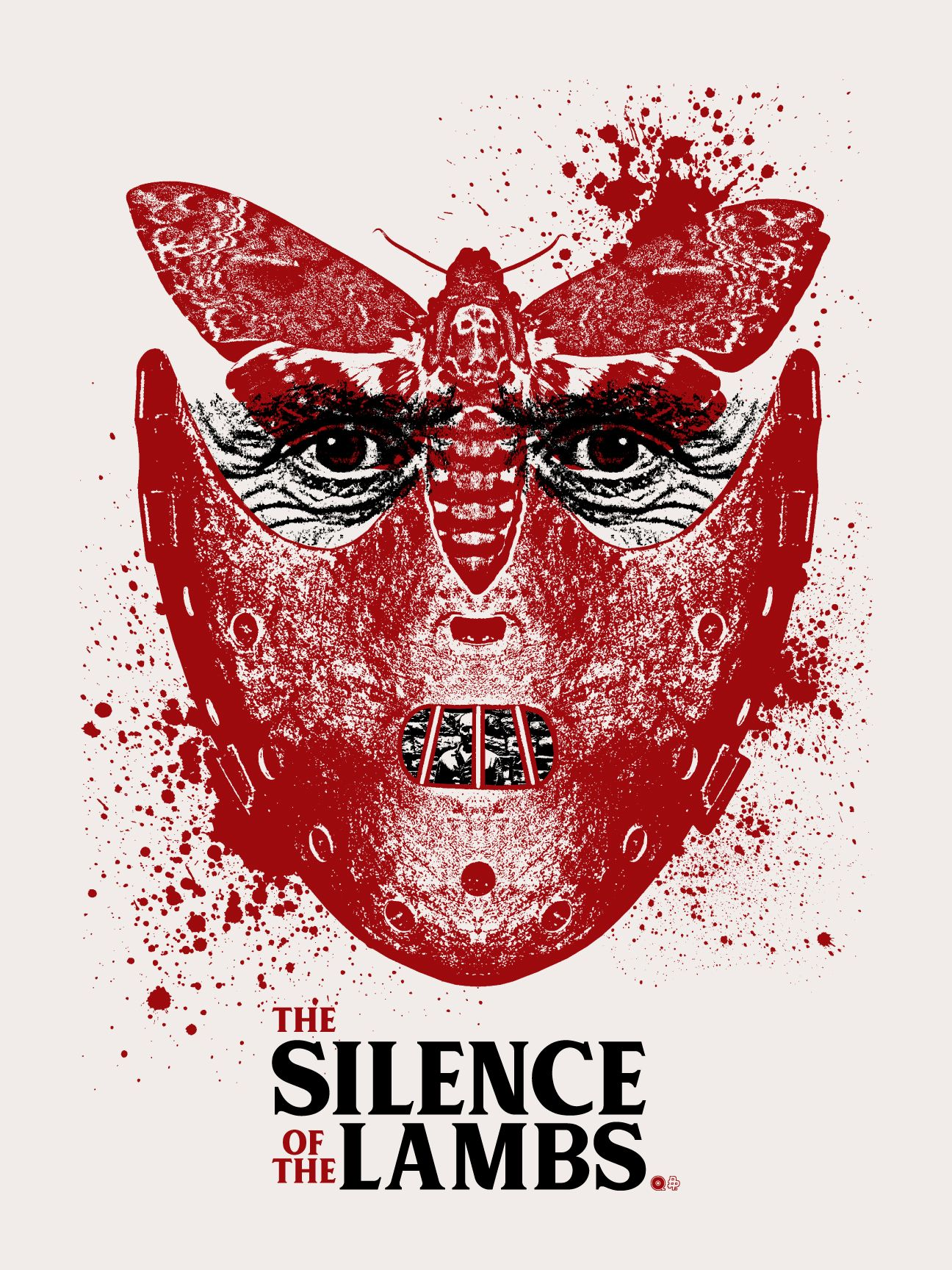 The Silence Of The Lambs Horror Movie Art Movie Wall Art Movie Poster Art
