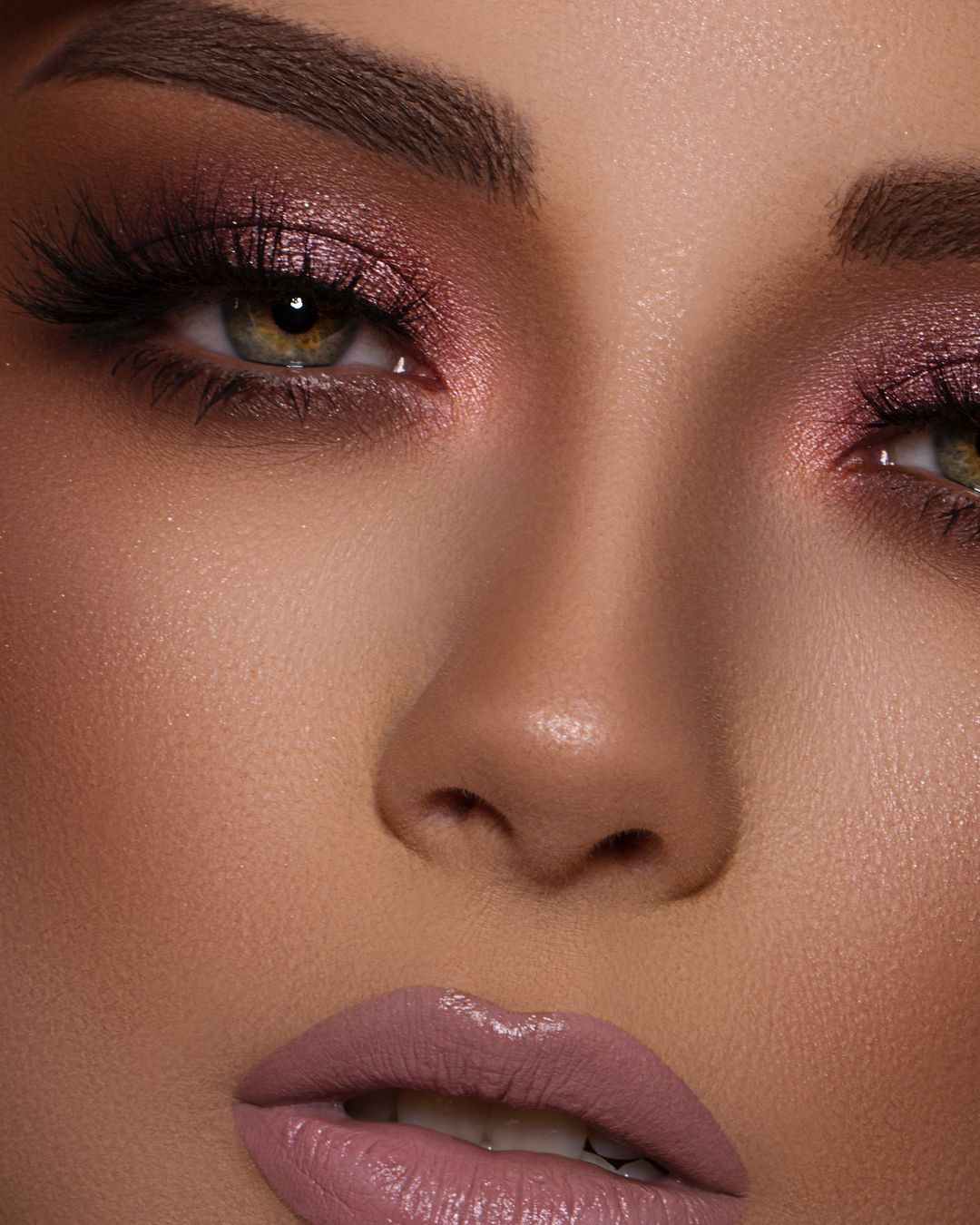 Pinks and Bronze Products list: Instant Light Spray Makeup