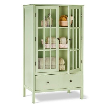 Windham Tall Cabinet With Drawer   Threshold™ : Target