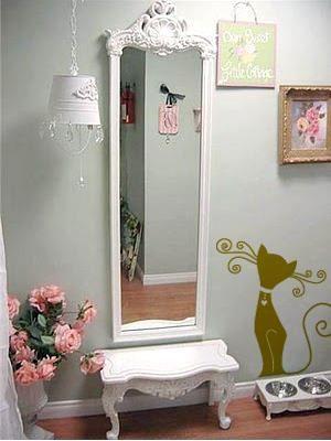 Espejo DIYS Pinterest Espejo, Decoración y Hogar - decoracion recamara vintage