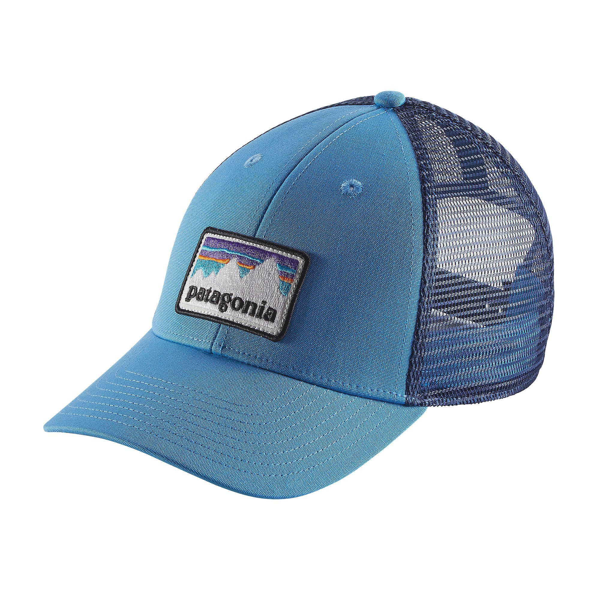 e32d5970f1165 Patagonia Shop Sticker Patch LoPro Trucker Hat