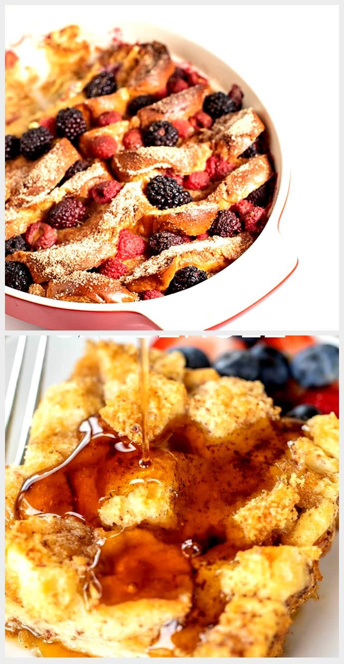 Photo of Overnight Berry French Toast Bake
