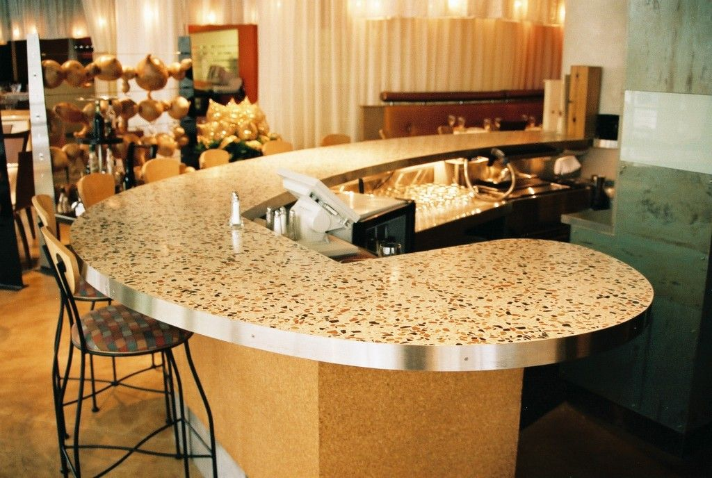 Charmant Go Green With Terrazzo Countertops   Http://www.sleeplessparis.com/