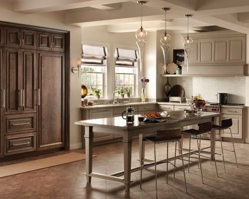 Is Mixing Kitchen Cabinet Finishes Okay Or Not: Mix And Match Door Styles And Finishes To Create A Casual
