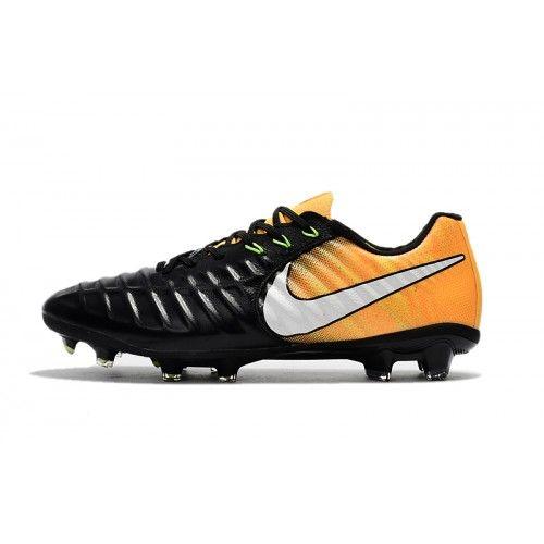 finest selection c64f0 7fd47 Nike Tiempo - Scarpe Calcio 2017 Nike Tiempo Legend VII FG Nero Arancia  Nuovo