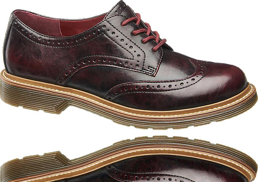 Dandy Schnürer von Graceland in rot | Schuhe