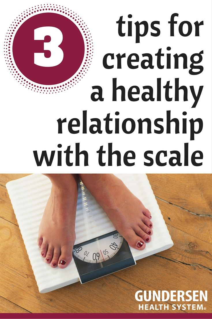 3 tips for creating a healthy relationship with the scale
