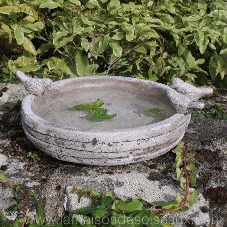 Grand bain d 39 oiseau en terre cuite patine ancienne pinterest patine decoration jardin et cuite - Bordure de jardin ancienne en terre cuite ...