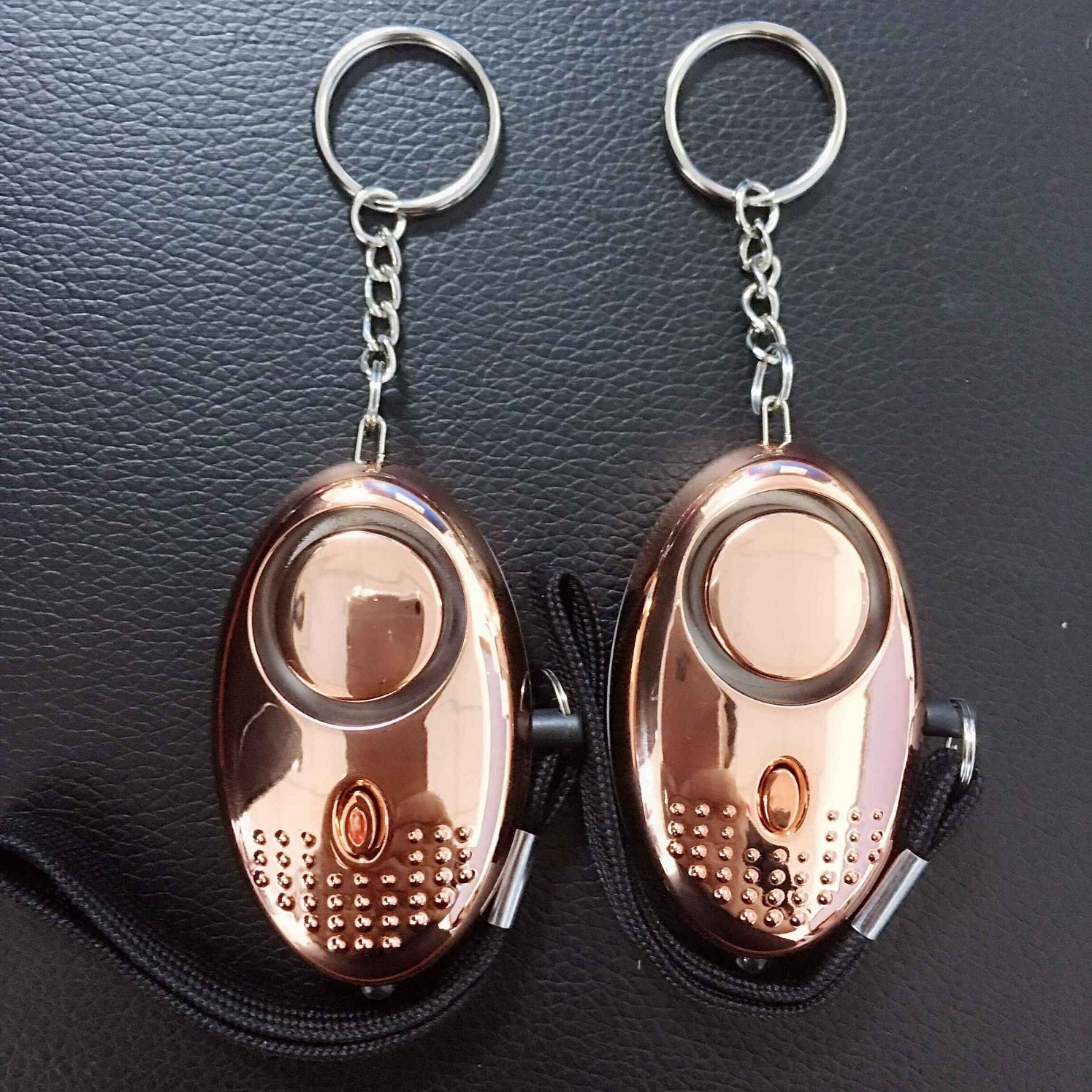 High Level Sound 140DB Personal Alarm With Key Ring LED