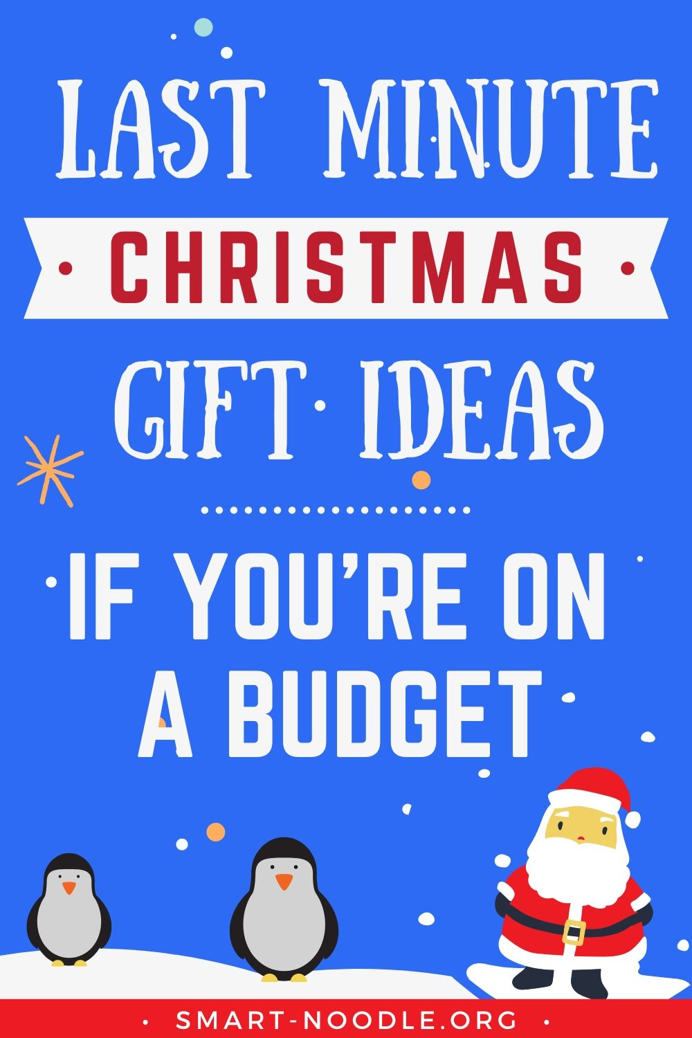Photo of Last Minute Christmas Gift Ideas If You're On a Budget
