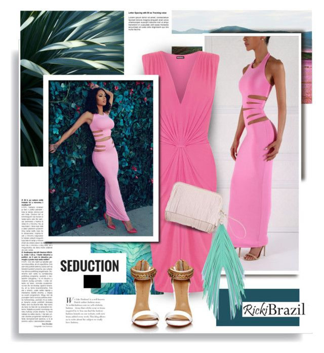 """""""RickiBrazil.com: Seduction!!"""" by hamaly ❤ liked on Polyvore featuring WearAll, The Volon, outfit, ootd, blouse and rickibrazil"""