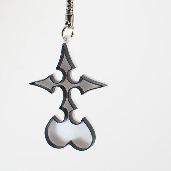 Kingdom Hearts Nobody Emblem Keychain Kingdom Hearts Pinterest