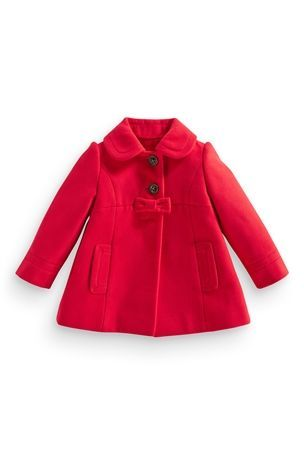 Bow Coat (3mths-6yrs) From Next
