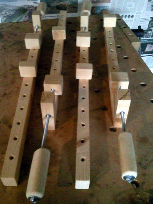 Sargentos largos caseros ideas para carpinter a - Sargentas para madera ...